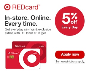 Target Red Card Offers