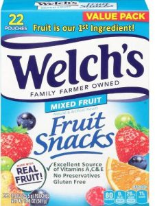 Welch's Fruit Snacks - Coupon
